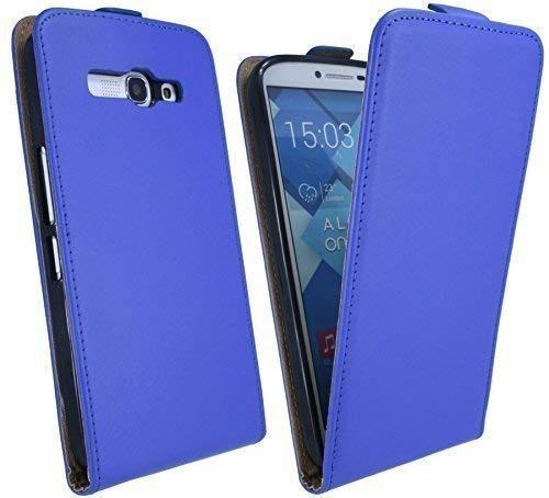bester der welt Alcatel One Touch POPC97047D kompatible Handyhülle in blauer Tasche mit Hülle… 2021