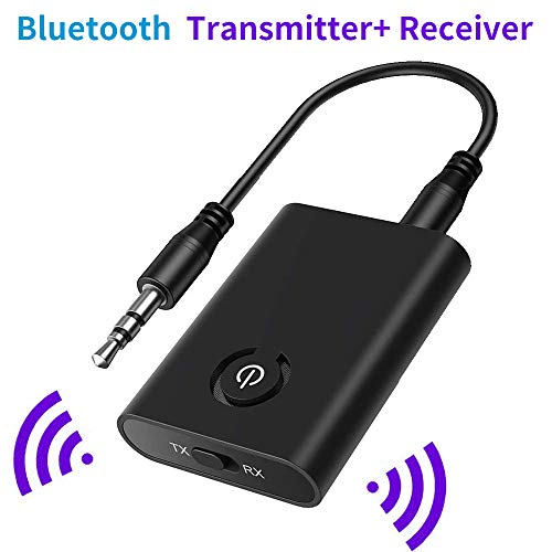pas cher un bon SOOTEWAY Bluetooth 5.0 Transmitter and Receiver 2 in 1 Bluetooth Adapter…