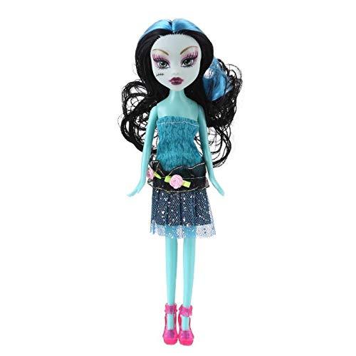 Dolls - Fashion Monster Dolls Lifelike Interactive Plastic Cartoon Doll Kids DIY Toy Girls Gift Body Girls Toys Gift - by TAllen - 1 PCs