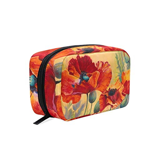 Trousse de maquillage Flower Poppys Cosmetic Pouch Clutch