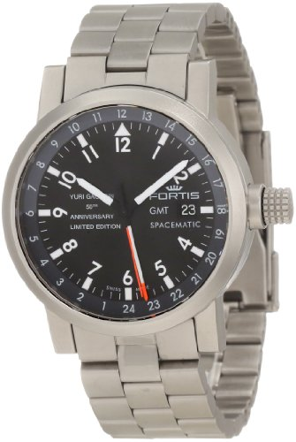 Fortis Men's 624.22.11 YGE M Limited Edition Gagarin Automatic Date Stainless-Steel Watch