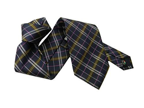 Avantgarde - Corbata de cuadros escoceses para hombre, color azul