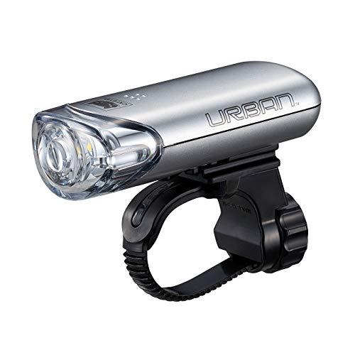 キャットアイ(CAT EYE) 自転車用LEDライト ヘッドライト URBAN アーバン HL-EL145 シルバー 前照灯として使...