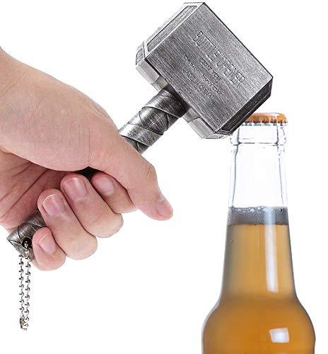 Abridor de Cerveza, Thor Hammer Abrebotellas, Sacacorchos Vino Manual para la Familia, Restaurante, Bar, Hotel.