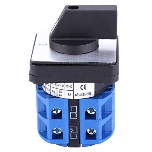 Interruptor de cambio giratorio universal, BEM28-25/2 C04 690V 25A Interruptor de leva giratorio selector de 2 posiciones