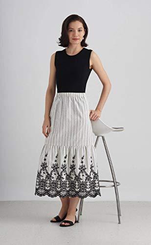 Simplicity Schnittmuster S8929 für Damenröcke mit verschiedenen Möglichkeiten zum Hacken, Papier, Weiß, verschiedene Farben