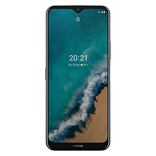 Nokia G50 5G   Android 11   Unlocked Smartphone   US Version   4/128GB   6.82-Inch Screen   48MP Triple Camera   Ocean Blue