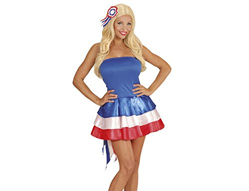 Widmann 76023 ? Robe Miss France, Bleu/Blanc/Rouge