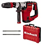 Einhell Martello demolitore TE-DH 12, 1050 W, 12 J, portautensili SDS max, impugnatura antivibrazioni, impugnatura supplementare regolabile, cavo gomma 4 m, incl. scalpello punta e piatto,incl. E-box