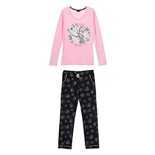 Tinker Bell Damen Lang Pyjama Schlafanzug