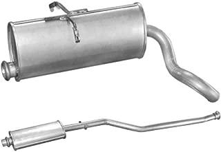 Auspuff hinten Endtopf Endschalldämpfer Citroen AX 1,0 1,1 1,3 1,4 1,5 D Diesel