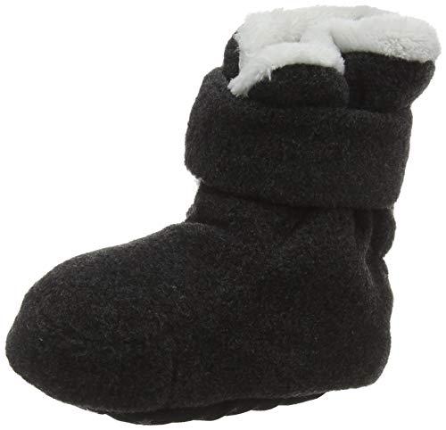 Sterntaler Jungen Baby Stiefel mit Klettverschluss, Farbe: Anthrazit melange, Größe: 17/18, Alter: 6-9 Monate, Artikel-Nr.: 5101616