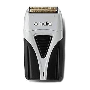 Andis ProFoil Lithium Plus – Maquinilla de Afeitar con Estación de Carga, color Gris y Negro