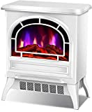 YLJYJ Estufa de calefacción eléctrica Independiente para Chimenea con Efecto de Llama LED Chimenea eléctrica de 1000 W / 2000 W