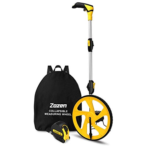 Measuring Wheel Zozen Collapsible with Kickstand and Cloth Carrying...