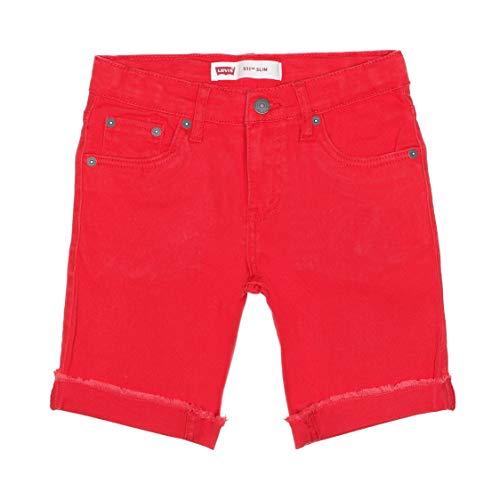 Levi's Kids Lvb 511 Cuffed Short Shorts Jungen Super Red 3 Jahre