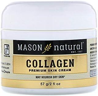 Crema facial de colágeno 100% puro para una piel tersa y firme de Mason Natural