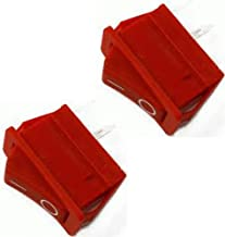 Porter Cable C2002/C2004 Compressor OEM Replacement (2 Pack) Rocker Switch # N001415-2pk