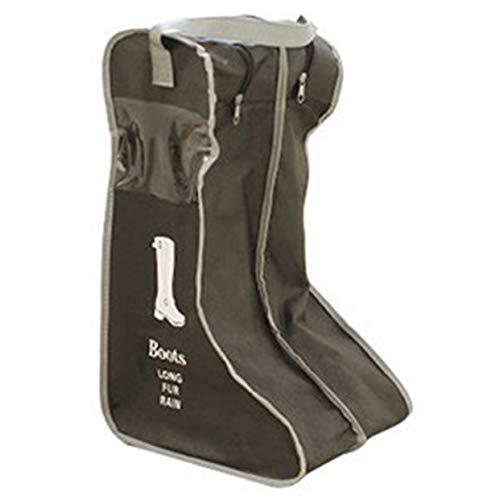 Miada Mehrzweck-Reisetasche für Schuhe, Schuhe, Aufbewahrungstasche, Sichtbare Staubschutzhaube, Vliestapete, Bk-l, Large