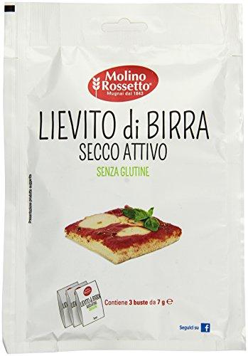 Molino Rossetto Lievito di Birra Secco Attivo - 21 gr