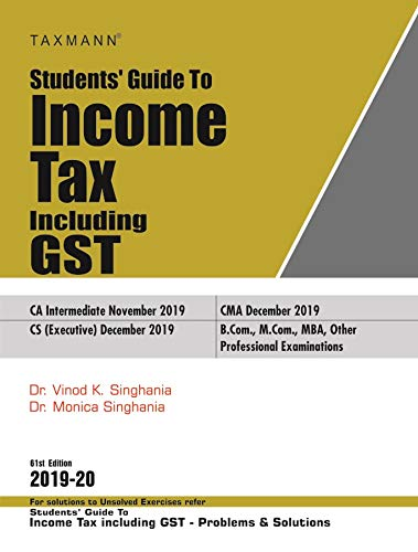 Students' Guide to Income Tax Including GST