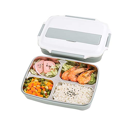 Wodeni Box Lunch Food Meal voorraadbak magnetron plastic magnetron herbruikbaar roestvrij staal