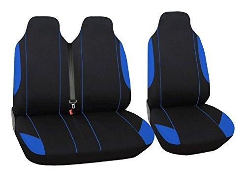 A1 Sitzbezüge Y2+1 blau-schwarz Schonbezüge blau-schwarz Neu