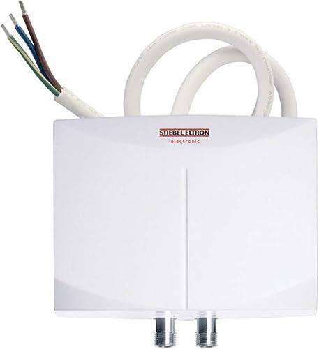Stiebel Eltron 236008 Model Mini-E 6-2 Thermostatic Handwashing Sink Tankless Electric Water Heater, 240V, 5.7kW, 23.8A, 0.026 Gallon Water Volumen, 150 psi/10 BAR Working Pressure
