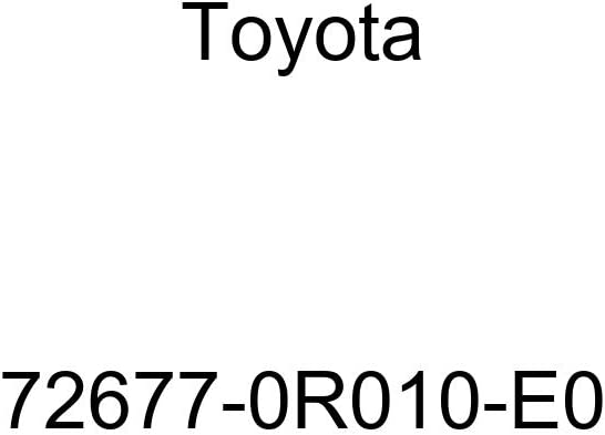 Fixed price for sale TOYOTA Genuine Ranking TOP10 72677-0R010-E0 Seat Back Base Lever Control Lock