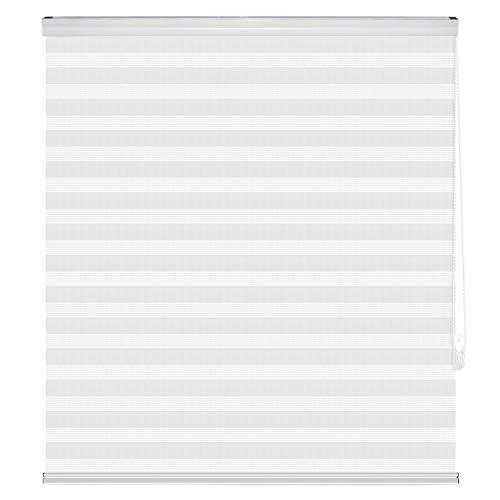 Yodeace Estores para Ventanas,160 x 180cm Blanco(2 Piezas) Estores Noche y Dia estores Enrollable