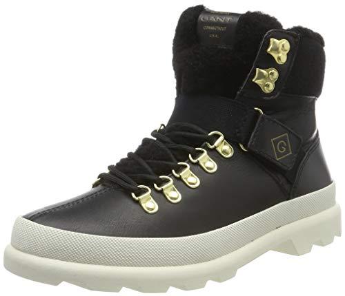 GANT Footwear Damen Westport Stiefeletten, Schwarz (Black G00), 36 EU