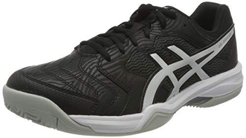 ASICS Herren Gel-Dedicate 6 Clay Tennis Shoe, Black/White, 46 EU