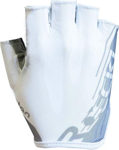Roeckl Ilova Fahrrad Handschuhe kurz weiß/silberfarben 2020: Größe: 6.5