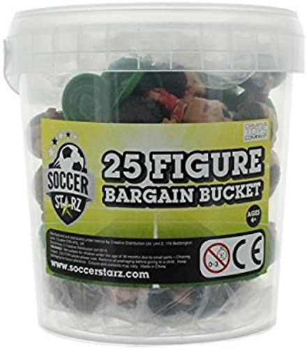 SoccerStarz 25 Football Figure Bargain Bucket (Premium) by SoccerStarz