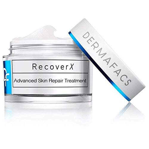 DERMAFACS RecoverX - Advanced Skin Repair Treatment - Silicon Based HSX Formula - Improve Damaged Skin