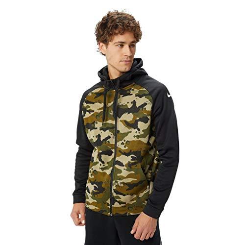 Nike - Sudadera con Capucha - para Hombre Verde Verde Oscuro S
