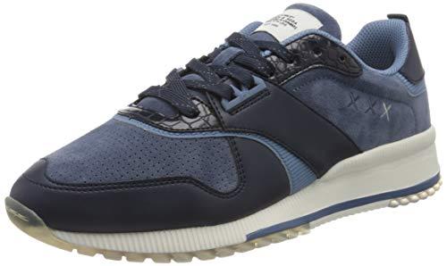 SCOTCH & SODA FOOTWEAR Herren VIVEX Sneaker, Navy Blue, 42 EU