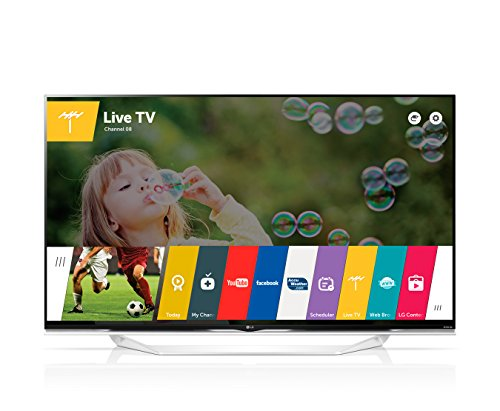 LG 55UF8577 55' 4K Ultra HD 3D compatibility Smart TV Wi-Fi Black LED TV - LED TVs (4K Ultra HD, Black, 3840 x 2160 pixels, Flat, DVB-C, DVB-S2, DVB-T2, Digital)