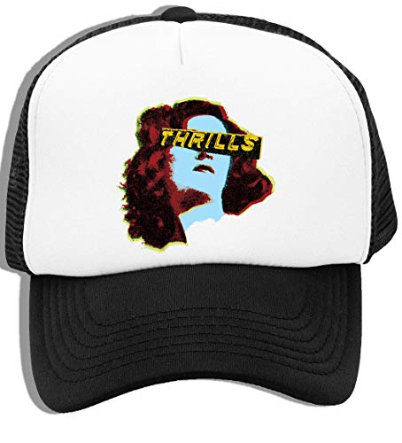 Thrill Girl - Thrill Niños Gorra De Béisbol con Malla Trasera Kids Baseball Cap Mesh Back