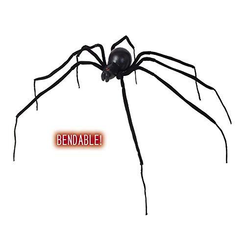 Widmann Araignée Veuve Noire cintrable unisex-adult, noir, 110 cm, vd-wdm7817 F