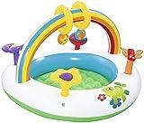 NLRHH Plegable Piscina, Piscina Inflable for niños, Piscina Bola del océano, Juguetes for niños, Piscina Infantil, Parque acuático Inflable Juguetes del Partido Peng