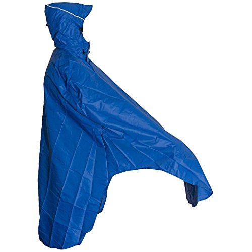 Lowland Outdoor Poncho Bicicletta │100% Impermeabile (7000mm)