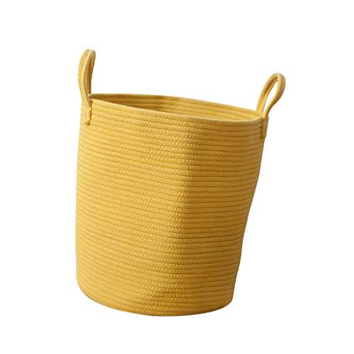 Cesta amarilla de Ropa Sucia, Juquetes Niños, Cesta de Guardar Prácticas Herramientas - Amarillo L