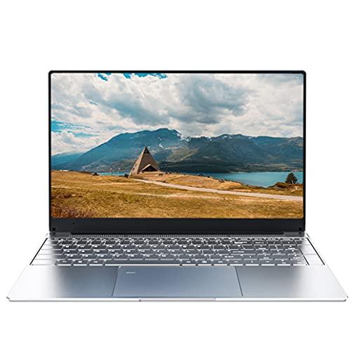 15.6 inch Laptop Notebook Computer PC, Intel Celeron J3455, 8 GB RAM, 128 GB SSD Storage, 1920*1080 Full HD IPS Display, Windows 10 Pro, Work and Streaming, Long Battery Life