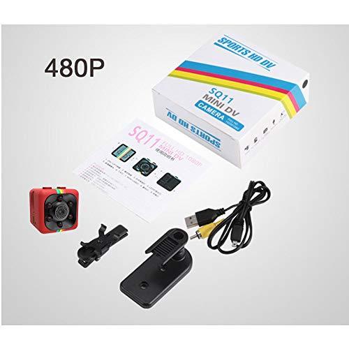 Bebliss HD 1080p verborgen camera micro knop camera recorder Rood