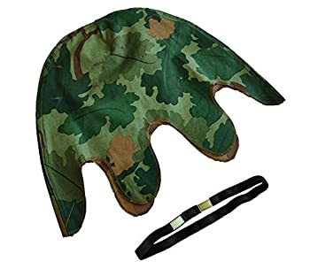 Vietnam WAR US Army Mitchell CAMO Reversible Helmet Cover & Strap OD