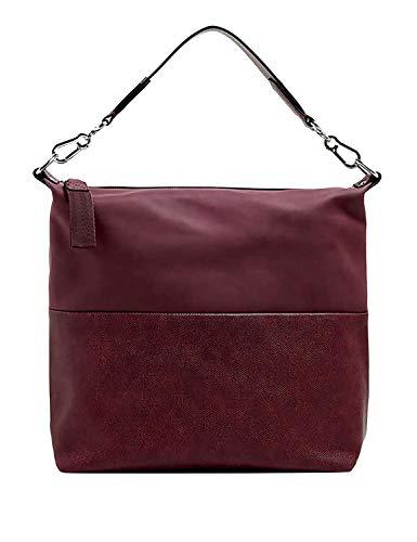 ESPRIT Damen Handtasche Tasche Henkeltasche Vivien Hobo Rot 089EA1O026-600