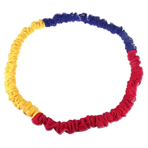 LIOOBO Juego Cuerda elástica para niños con Cuerda elástica. Arco Iris al Aire Libre para la Escuela de Deportes de Equipo - (Color Aleatorio)