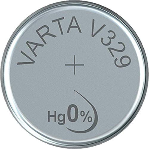 VARTA Batterien Electronics V329 Lithium Knopfzellen 1er Pack Knopfzellen in Original 1er Blisterverpackung
