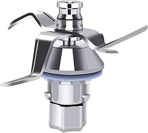 Poweka Couteau mélangeur pour robot de cuisine Vorwerk Thermomix TM 5 TM5 TM5 Lames de rechange en acier inoxydable pour robot de cuisine Vorwerk Thermomix TM5 avec joint